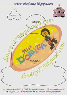 Miss Dorita: Moldes Portalapices