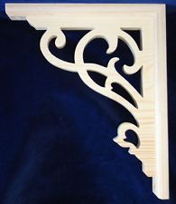 "L&G's Victorian Gingerbread Fretwork Porch Brackets 12"""
