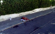 Jon Rafman, The Nine Eyes of Google Street View, 31 Calle de San Dalmacio, Madrid, Spain 2009, Licencia freeware