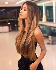 72 Brunette Hair Color Ideas in 2019 Ideas, Hair, Hair Goals, Brunette, Color Curly Hair Styles, Natural Hair Styles, Haircuts For Long Hair, Haircut Long Hair, Short Haircuts, Long Layered Haircuts, Hairstyle Short, Long Haircut Styles, Long Brunette Hairstyles