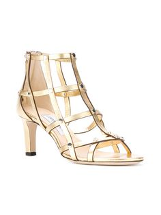 Jimmy Choo Woman Kathleen Metallic-trimmed Suede Platform Sandals Indigo Size 36.5 Jimmy Choo London hWnHSX5