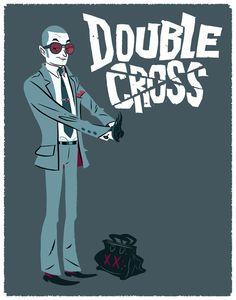 Daniel Krall. #characterdesign #blue
