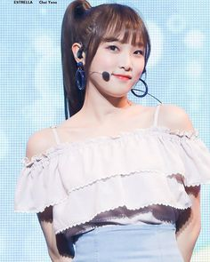 Dope or a Nope? Yu Jin, Japanese Girl Group, Pop Group, The Wiz, Kpop Girls, Off Shoulder Blouse, Thats Not My, Female, Pretty