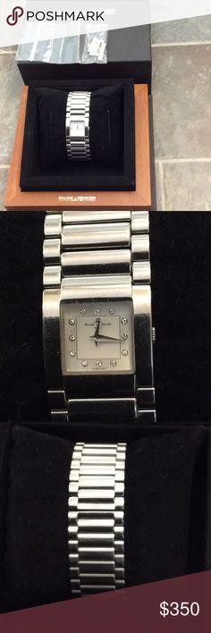 Baume & Mercier women's Catwalk watch Very good condition, diamonds, extra links included. Baume & Mercier Accessories Watches