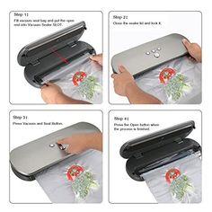 KitchenBoss vacuum sealer Review
