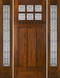 1000 images about craftsman decor outside on pinterest for Craftsman french doors