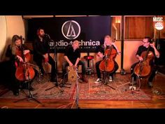 Apocalyptica - I Don't Care (Live at Music Feeds Studio)/ THIS IS AN ACCOUSTIC VERSION WITH NEW SINGER FREDDIE PEREZ. I LIKE  THE ORIGIONAL VERSION  BETTER BUT INLOVE FREDDIE'S VOICE. AND THIS IS THE ULTIMATE FUCK YOU SONG!