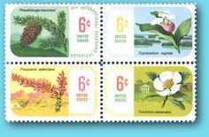 (For Nana) Commemorative Stamps: INTERNATIONAL BOTANICAL CONGRESS 6 Cent US Stamp