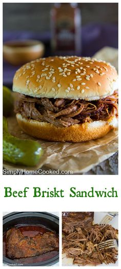 Slow cooker beef brisket is just the meal for a cold autumn day. This beef is so…