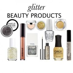 2013 Glitter Makeup Guide: Polish, Shadows, Liners, and Gloss
