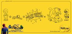 Yellow - Dia das Crianças - Pisas Spider-Man