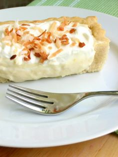 Coconut Cream Tart > Willow Bird Baking