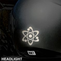 Hyper Reflective Dice Decal Motorcycle Helmet Safety Sticker - Vinyl stickers for motorcycle helmets