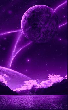 Purple Galaxy Wallpaper, Space Phone Wallpaper, Purple Wallpaper Iphone, Aesthetic Desktop Wallpaper, Scenery Wallpaper, Purple Backgrounds, Cute Wallpaper Backgrounds, Pretty Wallpapers, Aesthetic Backgrounds