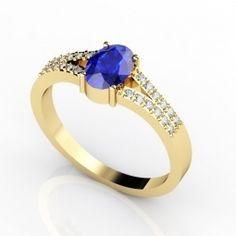 14K Yellow Gold Tanzanite Ring    $646.89
