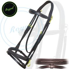 Royal Quick Release Working Bridle with PP Rubber Grip Reins. Regular price $98 Sale price $78 (Havana/ Brass Buckle)