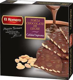 Torta de Chocolate EL ROMERO Calidad Suprema 200 g x 24 unidades