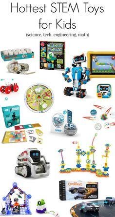The Best STEM Toys and Gifts for Kids for 2019 the top STEM toys for 2017 Christmas holiday gifts for kids (science, technology, engineering, math) Diy Gifts For Mom, Cool Gifts For Kids, Crafts For Boys, Toys For Girls, Gifts For Girls, Simple Gifts, Baby Girls, Science Gifts For Kids, Kid Science