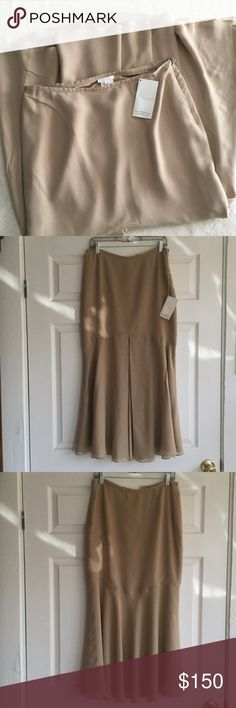 Escada - Brown Silk Dress Excellent condition like brand new. 100% Silk. It is 37 long inches. It is authentic. Escada Dresses