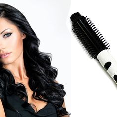 Buy Pure Acoustics Thermostatic Iron Brush Curler Ceramic Comb Electric Hair Straightener by Pure Acoustics on OpenSky