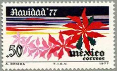 Stamp MEXICO 1977