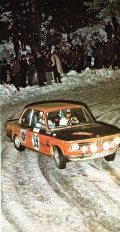Adam - Smorawinski (BMW 2002 TI) - Rallye de Monte-Carlo 1971