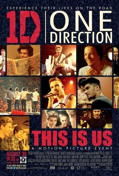 One Direction - This is Us. Can't wait to see this!!!!