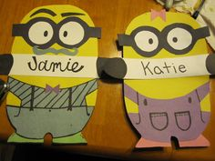 Make door decorations from Despicable Me minions!!