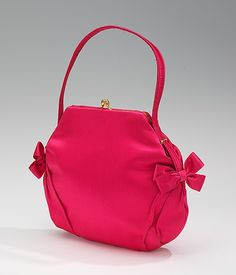 Evening purse  Date: ca. 1960 Culture: French Medium: silk, metal