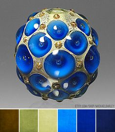 Art Bead Scene Blog: Art Bead Palette :: Shades of Blue