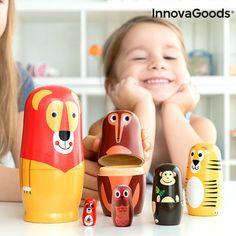 Jos olet innoissasi vempaimista, InnovaGoods tarjoaa parhaat ja omaperäisimmät uudet tuotteet kotiin, autoon, matkalle, lapsille, teknologiaan, viihteeseen Play Doh, Montessori, Learning Methods, Wooden Animals, Gadgets, Cute Little Animals, Baby Kind, Social Skills, Motor Skills