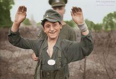 Operation Goodwood, 18 July 1944 : A young German prisoner. https://www.facebook.com/World-War-Colorisation-790508287736232/
