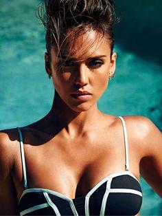 Джессика Альба (Jessica Alba) в фотосессии для журнала Shape Magazine (июнь 2015), фото 5