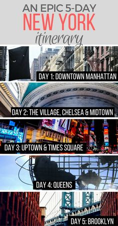 An off the beaten path guide to 5 days in New York, including all the top Manhattan sights plus more in Brooklyn and Queens!