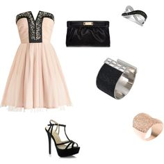 """Elegant evening dress"" by enjoyfashion22 on Polyvore"