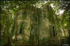Tucked away in the forests of northern France, sits Chateau PR, long abandoned and forgotten.
