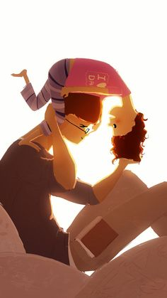 Quotes About Love For Him : Peekaboo by Pascal Campion… Pascal Campion, Family Illustration, Illustration Art, Anime Gifs, Pretty Art, Storyboard, Illustrations Posters, Concept Art, Art Drawings