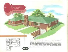 9637c6dadfba3acc9d4832ac01b39583 s house retro renovation pinterest the worlds catalog of ideas 1950s small ranch house,1950 Ranch House Plans