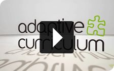 "Adaptive Curriculum // With Adaptive Curriculum, you can deepen your Middle or High School curriculum with interactive, 100% online instruction that answers the question for your students: ""Why do I need to know this?"""