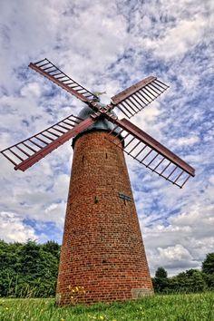 Windmill in Wigan, England
