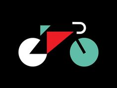 I made another bike thing | Bicicletas, Formas Geométricas y Logotipos