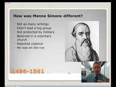 Menno Simons - YouTube