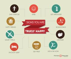 Sign you are truly happy | Fitness Republic