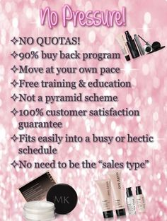 Reasons to start your own Mary Kay business!!!!