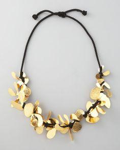 Herve Van Der Straeten Twine Necklace in Gold