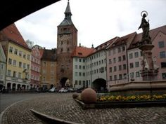 Landsberg, Germany. Such a cute place!