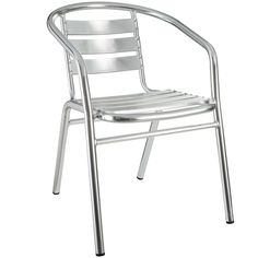 Perch Dining Chair in Silver