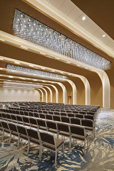 Hall Flooring, Hall Interior, Interior Design Sketches, Shangri La Hotel, Vertical Garden Diy, Glass Installation, Hall Design, Hotel S, Auditorium
