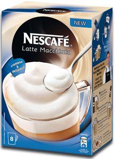 -in USA- Nescafe Latte Macchiato -EXTRA FOAMY - Instant Coffee -