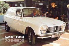 1972 Peugeot 204 Fourgonnette brochure